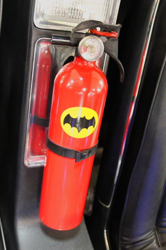 Batmobile Fire Extinguisher