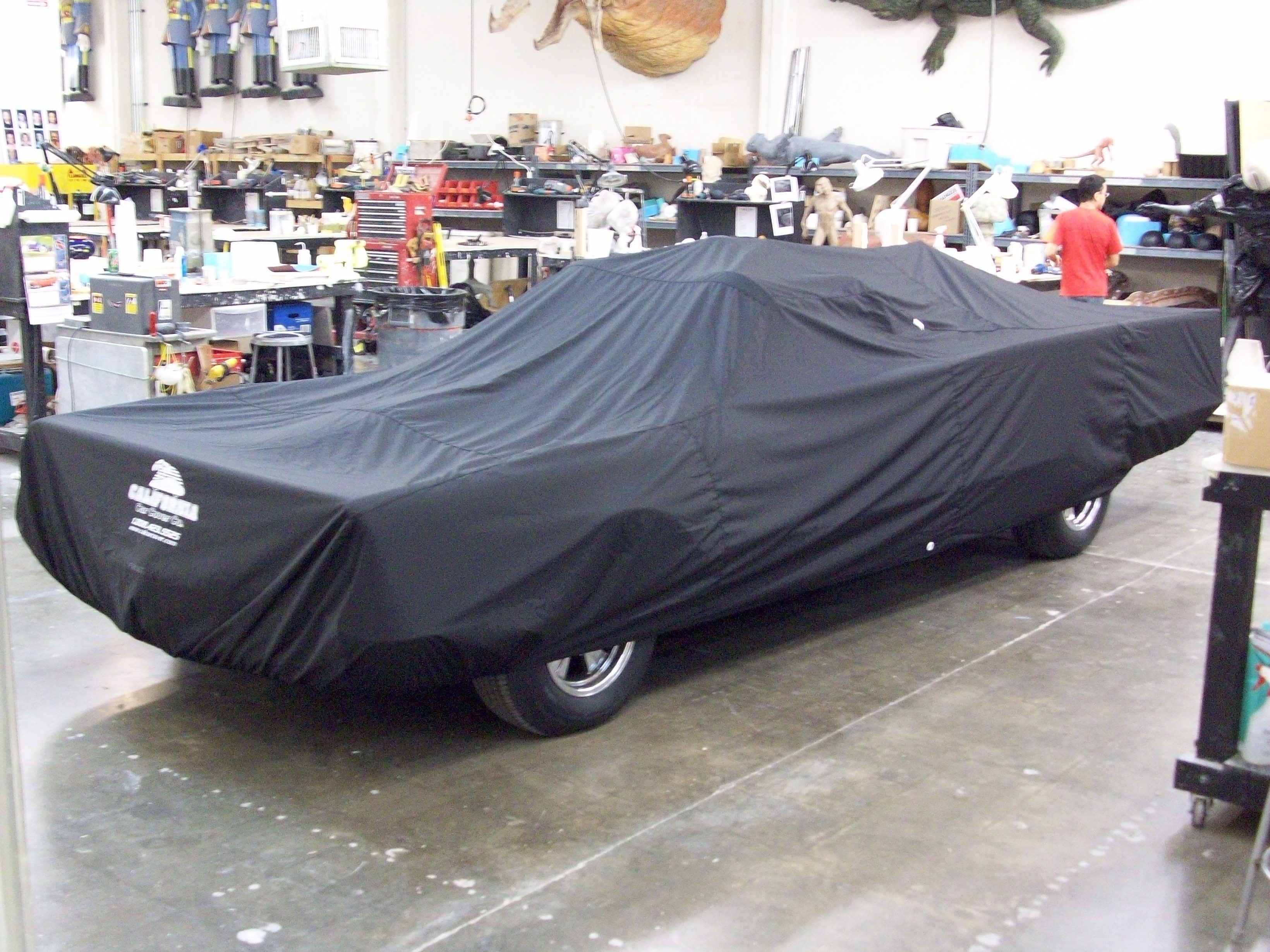 Fiberglass Freaks Car Cover