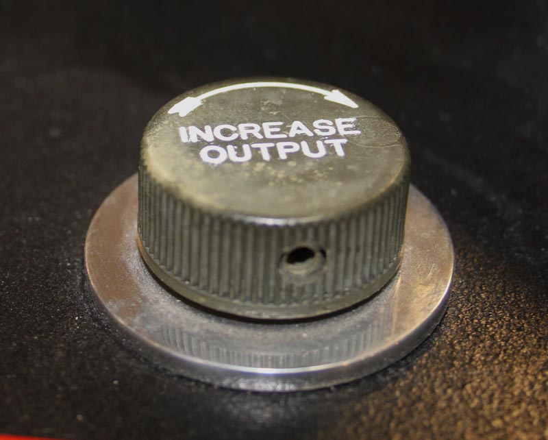 Batmobile Increase Output Knob & Switch