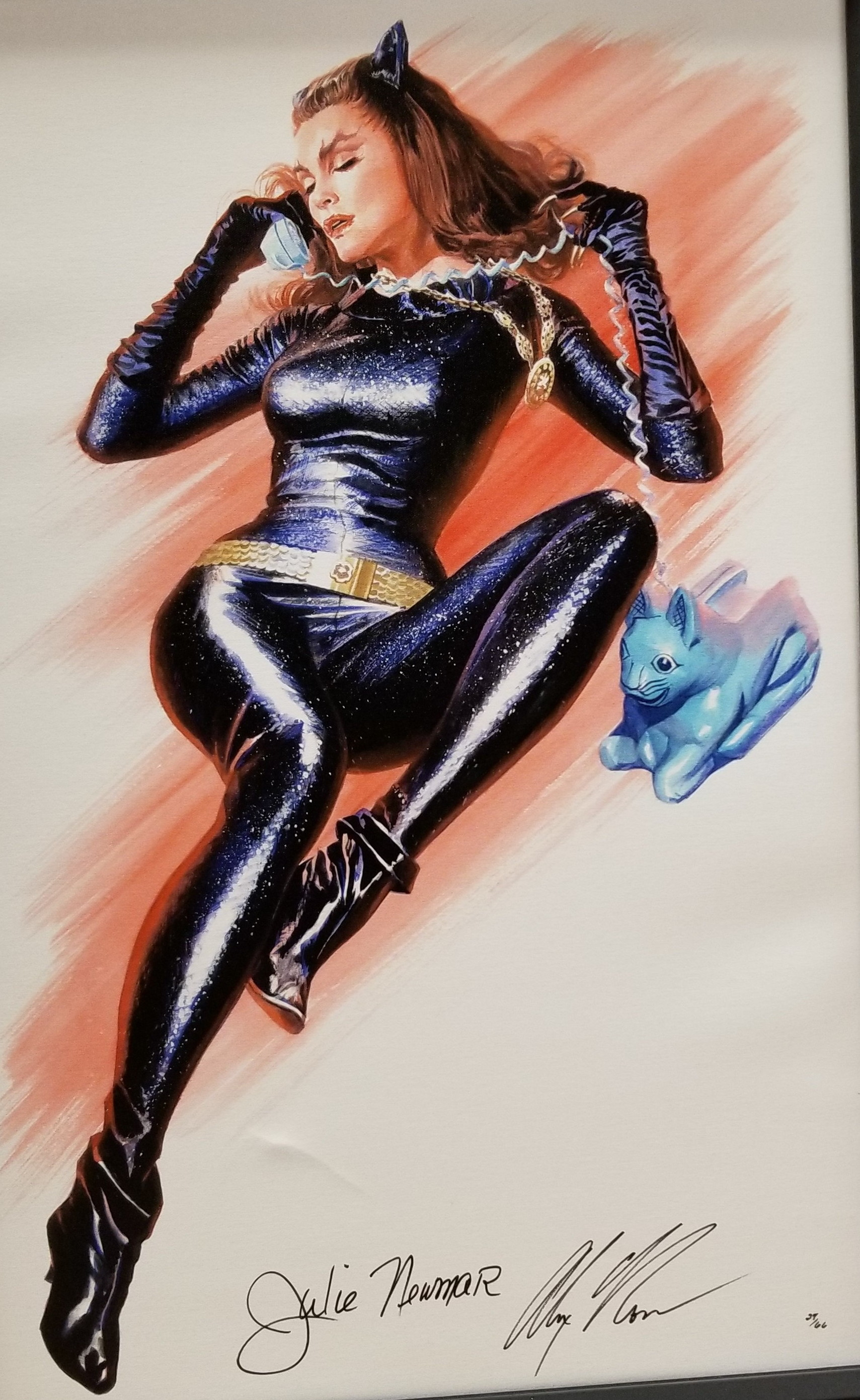 PURR-FECT~ Limited Edition painting by Alex Ross