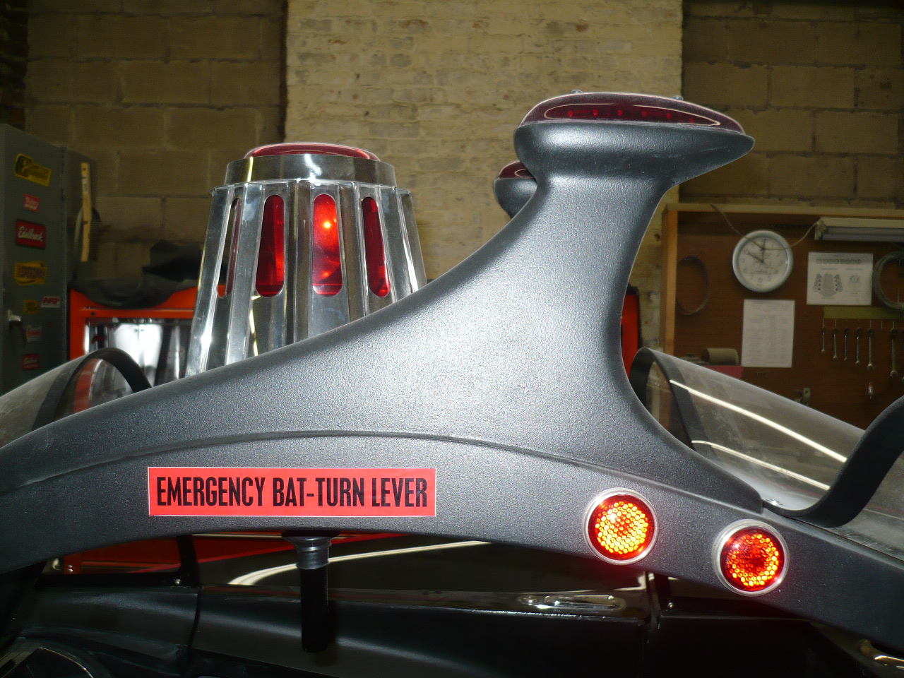 Batmobile Beacon Light Kit